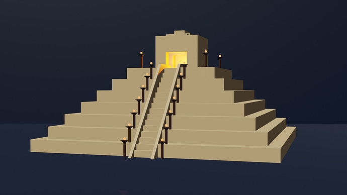 Finished Pyramid