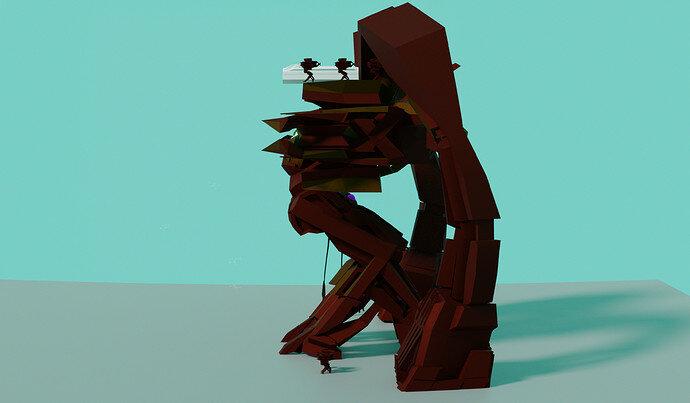 Iron Man Mountain Gorilla 3