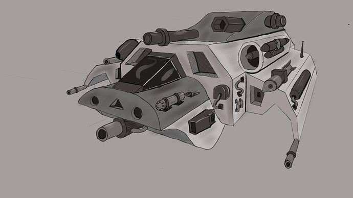 2pnt Spaceship