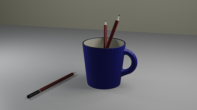 Cup and Pencils 2