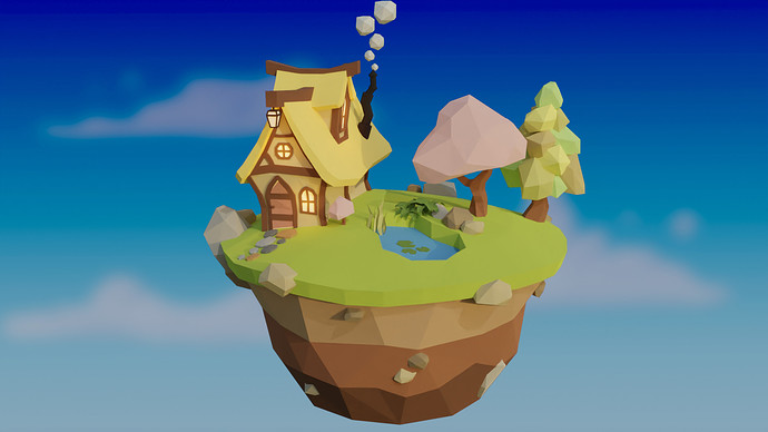 TUT 2_SEPT_2021_Low Poly Environment_1