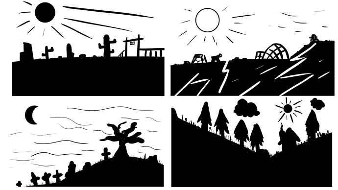 BW_Landscape_Collage