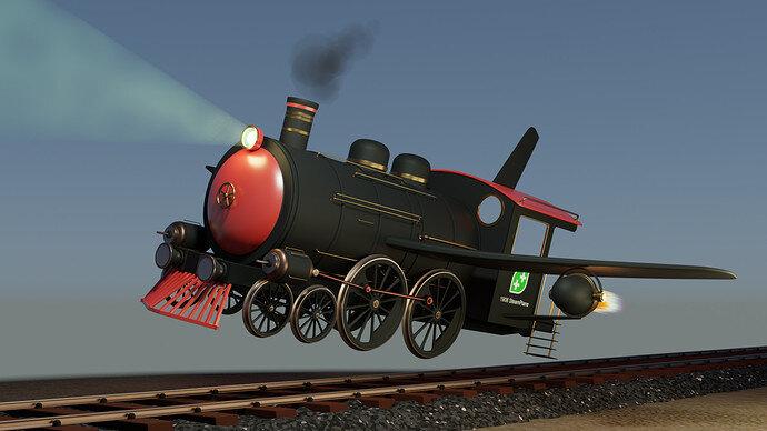 Steam-air-plane-train - 19