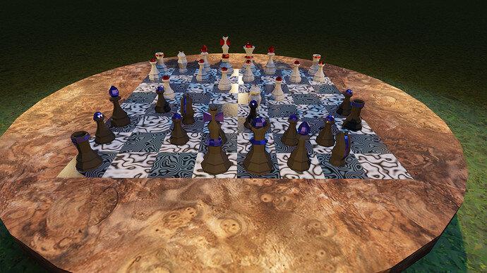 chess scene render 02