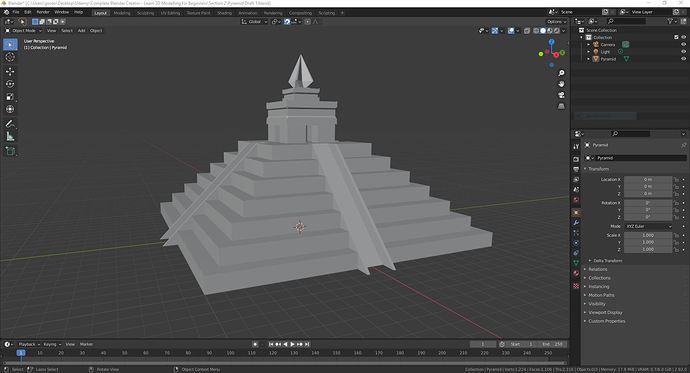 Pyramid Progress