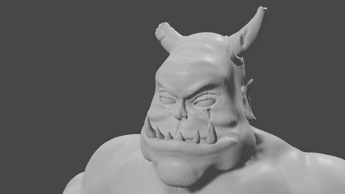 Horn Sculpt