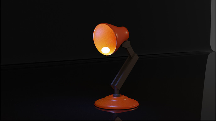 not-so-moving lamp