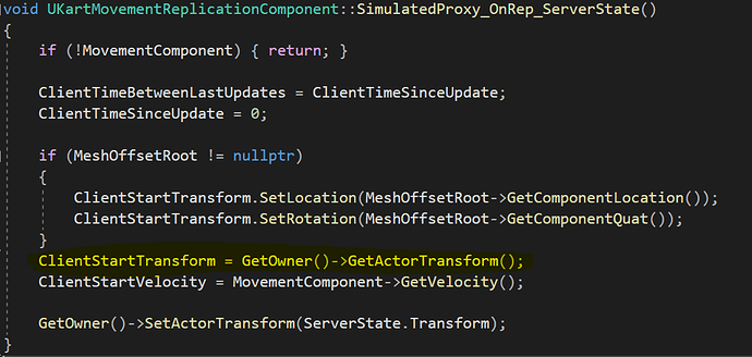 Extra Line of code