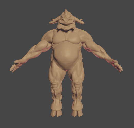 Demon Sculpt 1