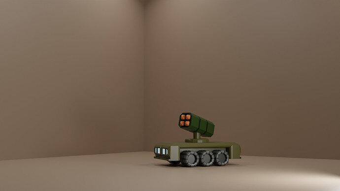 medium car rocket