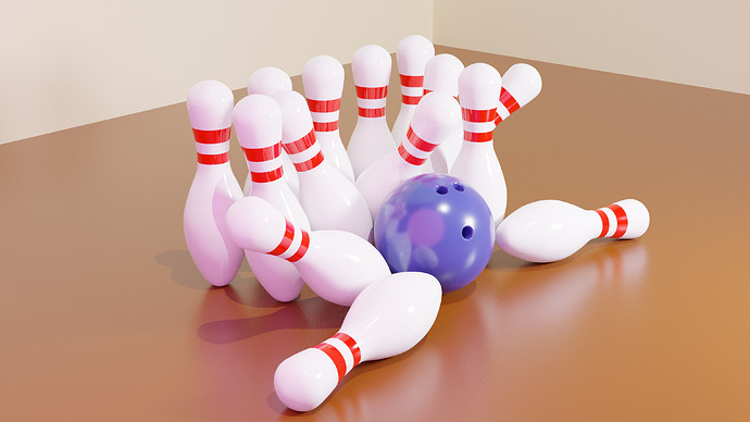 Bowling Scene Cycles