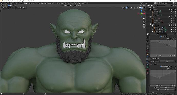 Orco con barba_screen_front_color