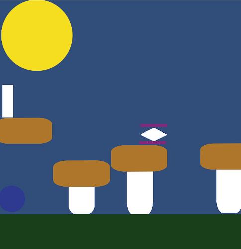Sample level for slime game