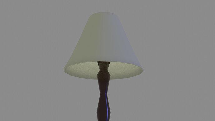 Single Stem Lamp Shade