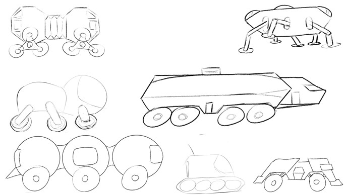 Martian Vehicles