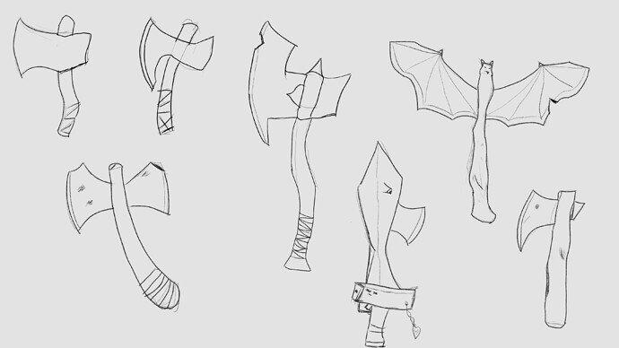 Axes sketches