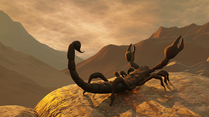 015 Render Scorpion