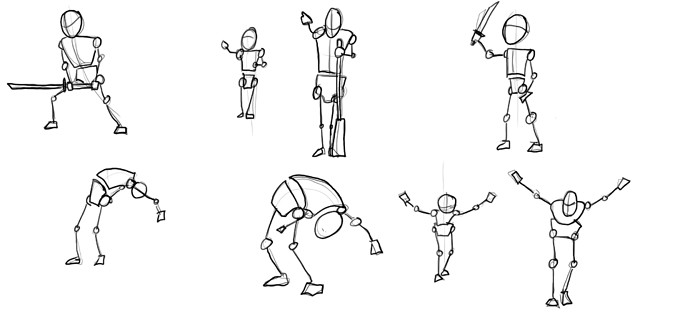 blocking posture 2