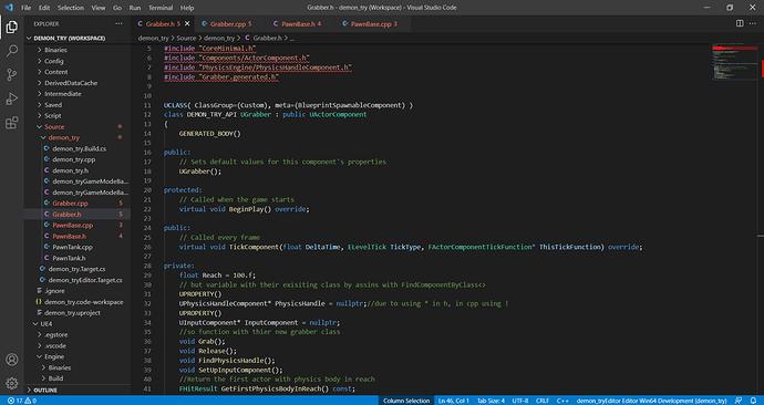 Grabber.h - demon_try (Workspace) - Visual Studio Code 22_09_2021 10_24_25