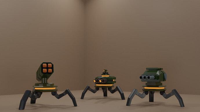 tripod bots
