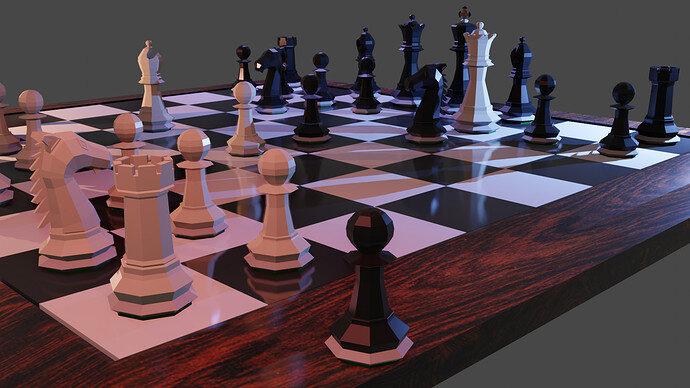 Lost Black Pawn