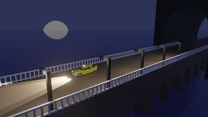 taxi drive archway002