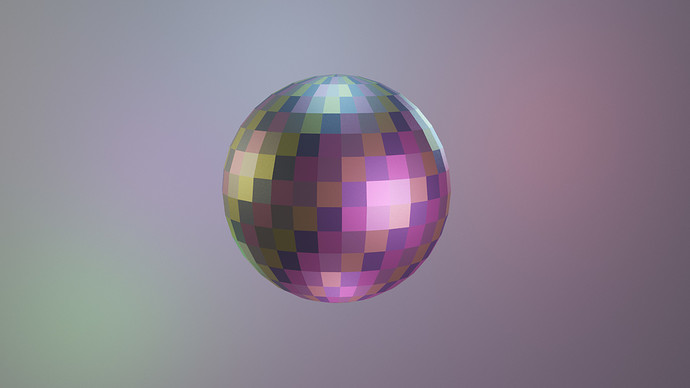 S2disco ball-cycles