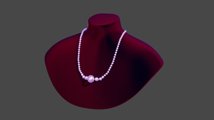 Pearl necklace - 01