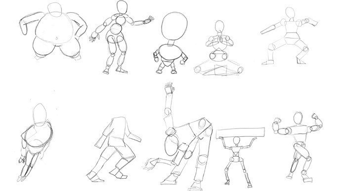 shapely characters