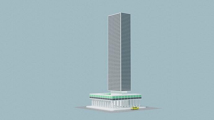 taxi building002
