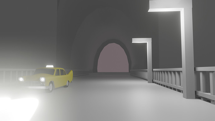 taxi drive archway