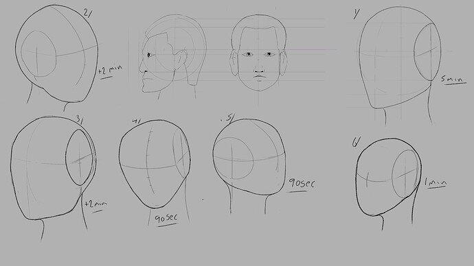 3-4 faces