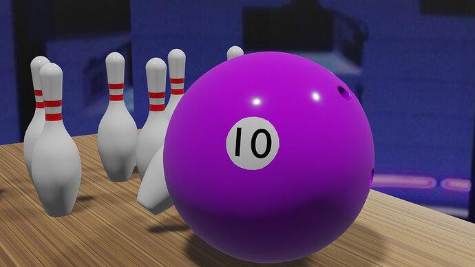 Ball and pins