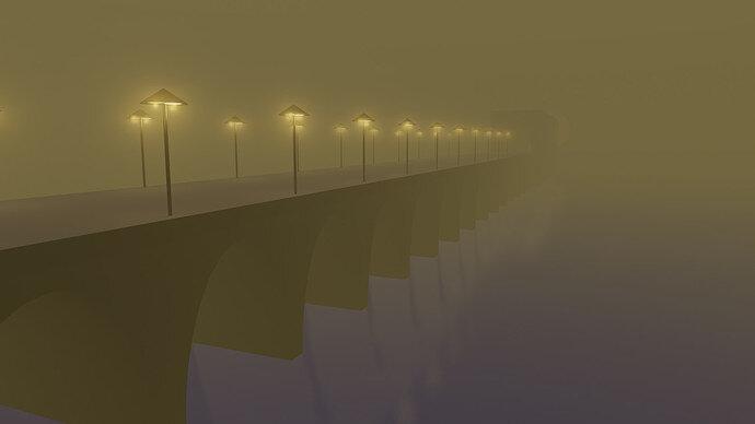 Bridge+yellow Fog-Evee
