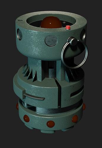 Grenade - 14 Cycles - UVMAP circles