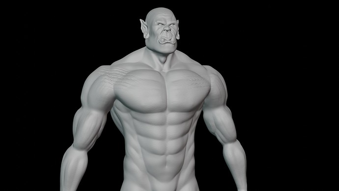 Orc front perspective