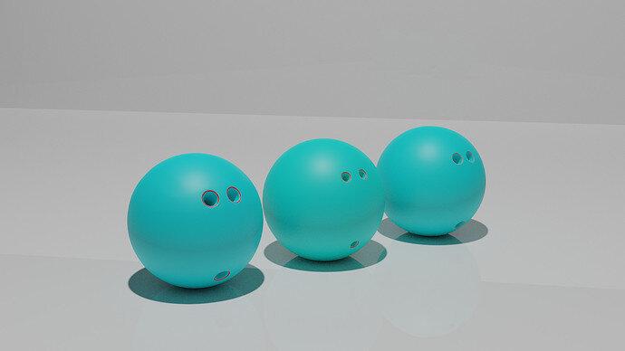 Bowling Ball Three Types 2