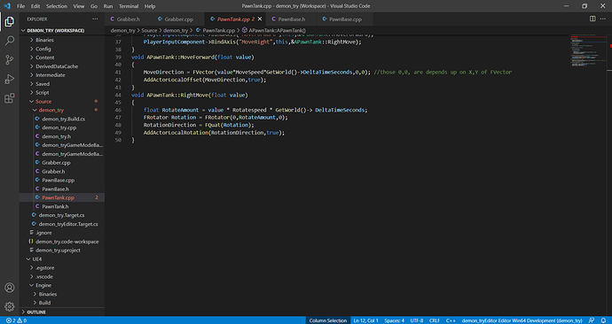 PawnTank.cpp - demon_try (Workspace) - Visual Studio Code 22_09_2021 11_02_43 (1)