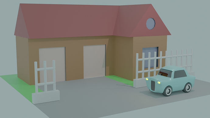 Car and house-1