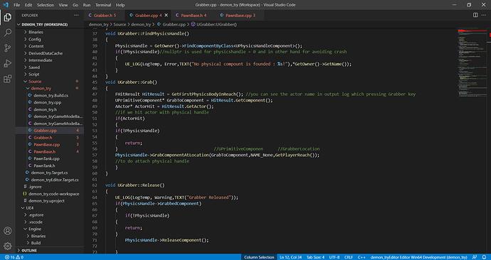 Grabber.cpp - demon_try (Workspace) - Visual Studio Code 22_09_2021 10_26_28