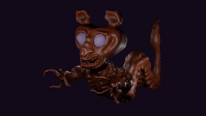 Friendly Centipede Man