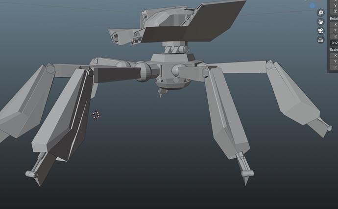 deadlocked mech master legs 3