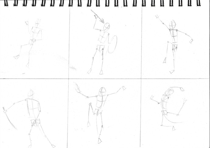 Poses from quickposes