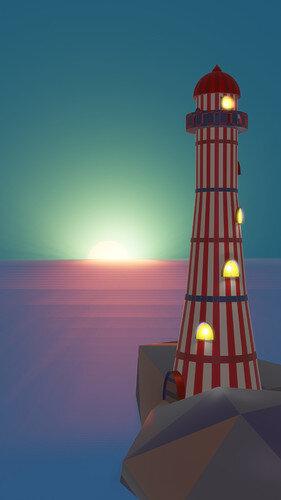 lighthouse eevee
