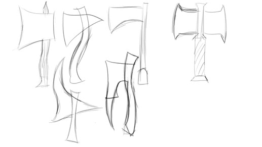Axes Sketches