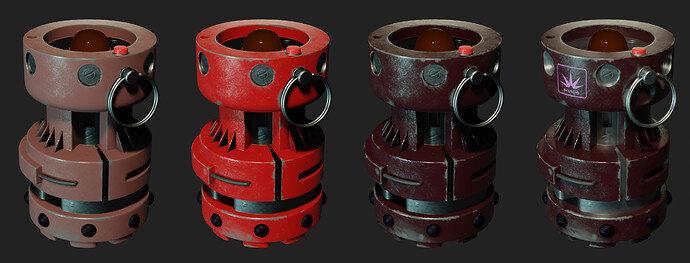 Grenade - 20 combi