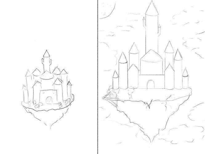 castle - basic layout