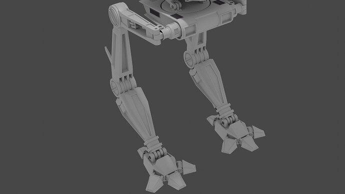 Mech Legs Front