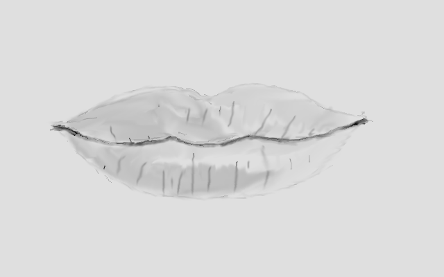 mouth closed