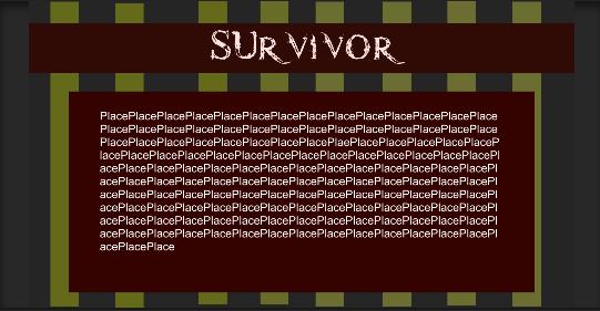 Survivor title text